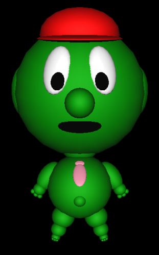 Green Guy Daniel James Bigham